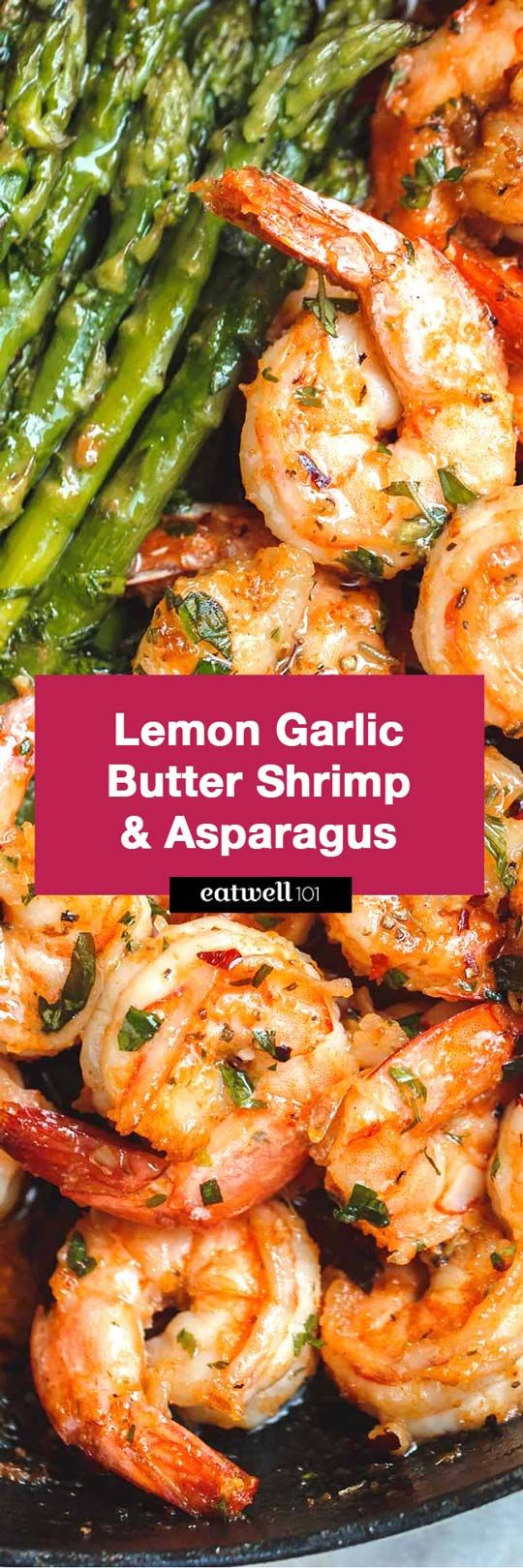 Lemon with - - So much flavor and so easy to throw together, this shrimp is a winner! - by