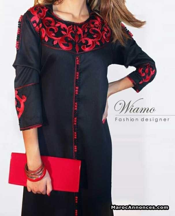 jellaba moderne v tements caftans kaftan moroccan dress et kaftan abaya. Black Bedroom Furniture Sets. Home Design Ideas