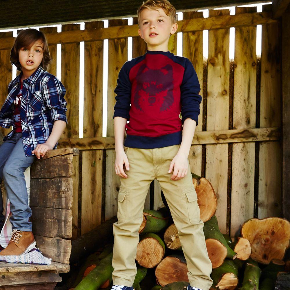 Cherokee Boys Cargo and Sweatshirt