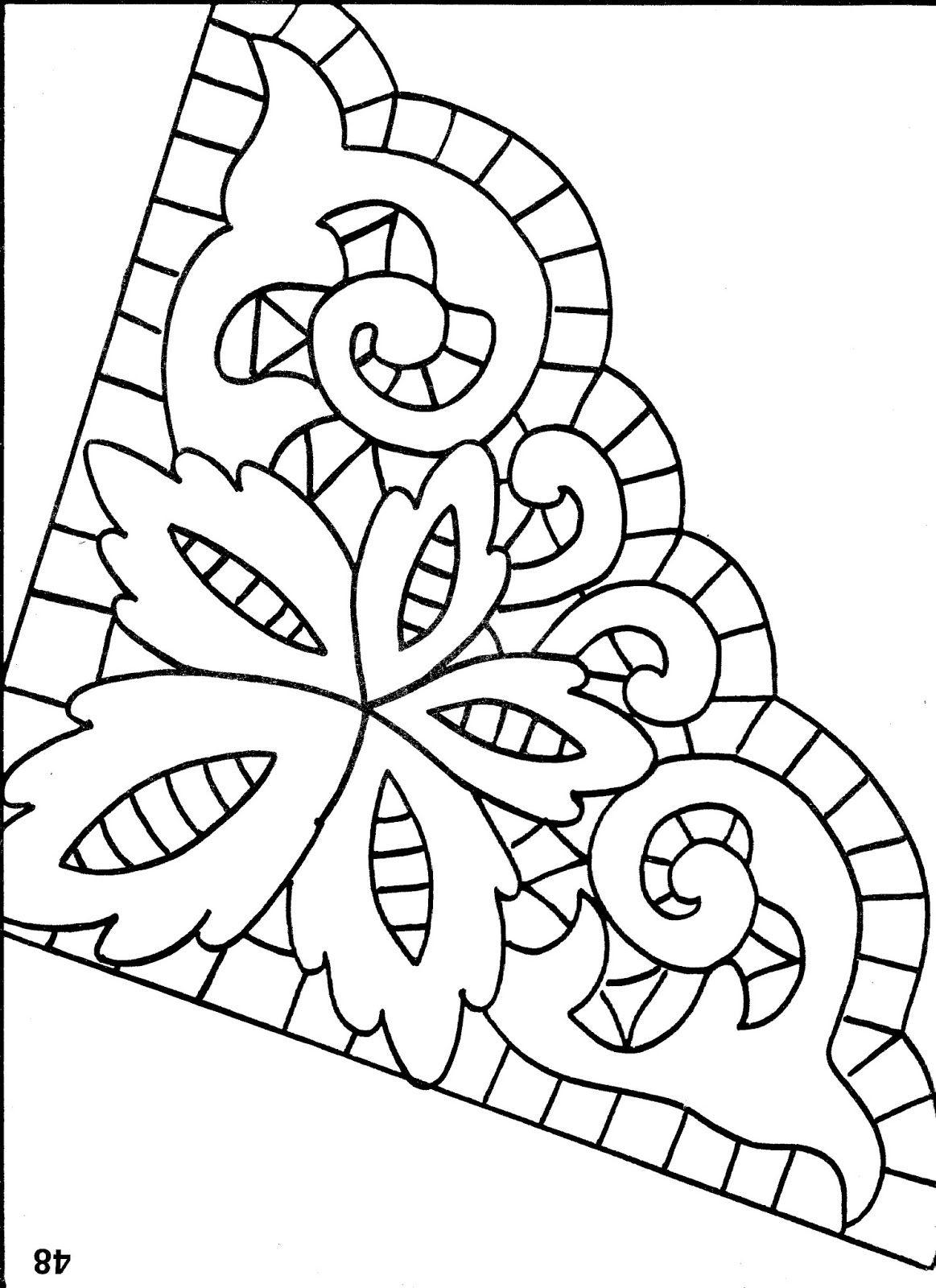 Wzory Haftu Richelieu Polskie Rekodzielo Embroidery Linen Napkins Bobbin Lace