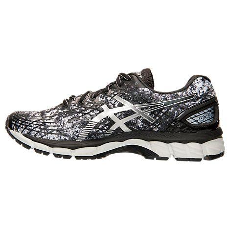 Men's Asics Gel Nimbus 17 Print Running Shoes T507Q 293
