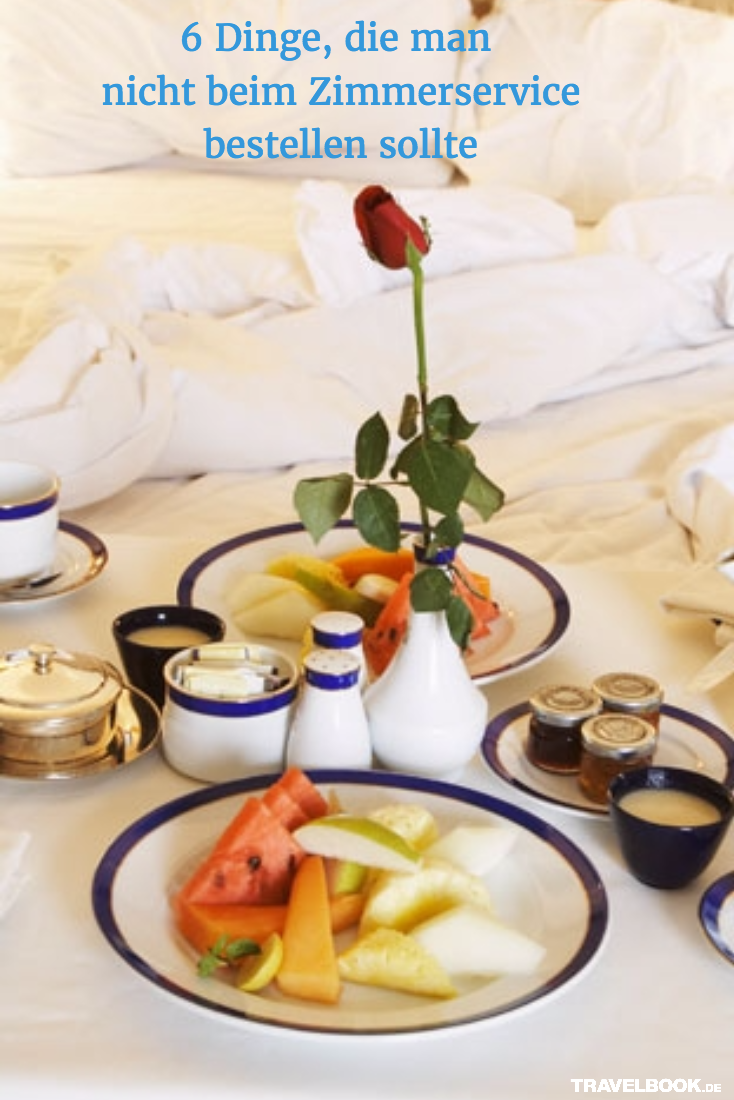 6 Dinge, die ihr besser nicht beim Zimmerservice bestellen solltet