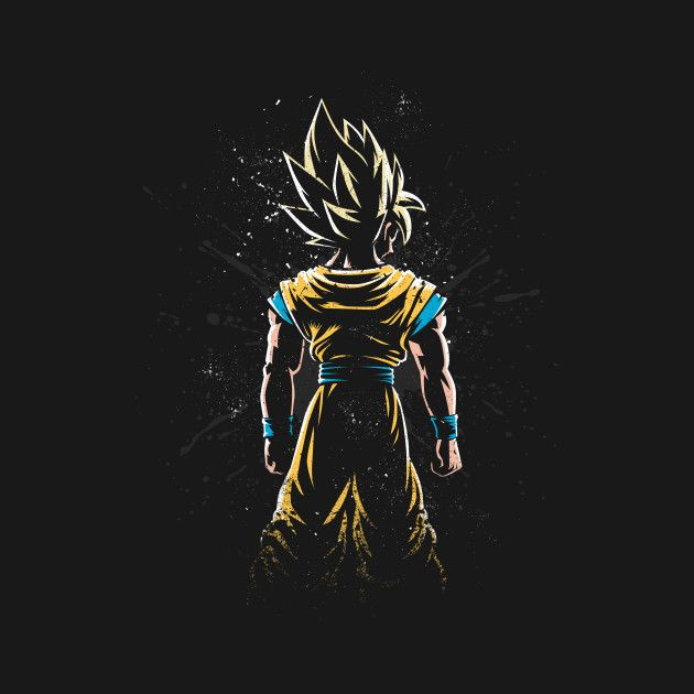 Check Out This Awesome Saiyan Back Design On TeePublic Goku Wallpaper