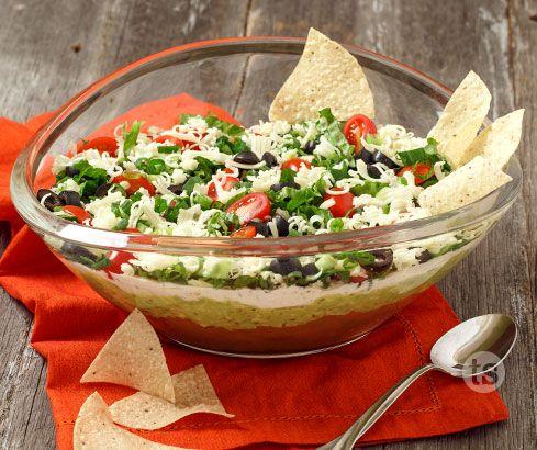 Giddyup Tostada Dip Recipe Tastefully Simple Recipes Cinco De Mayo Food Recipes
