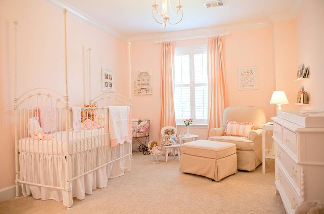 What Little Princess Wouldn T Love This Room A Pretty Pink Nursery By Pizzazzerie Rose Quartz Inspiration
