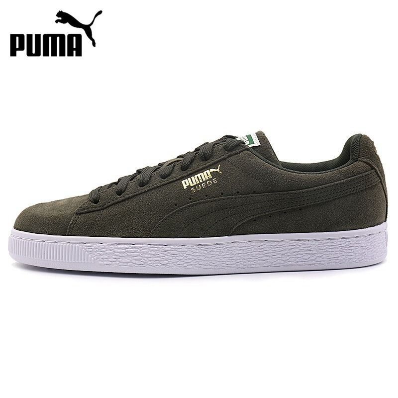 Original New Arrival 2018 PUMA Suede Classic + Unisex Skateboarding Shoes  Sneakers. Yesterday s price  US  130.00 (106.51 EUR). Today s price  US   105.30 ... ee8d0af60