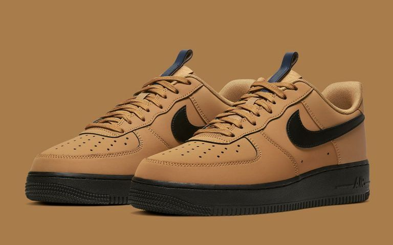 Available Now // Nike Adds Tongue Pulls and Micro Suede Finishes to the Air Force 1 Low for Fall