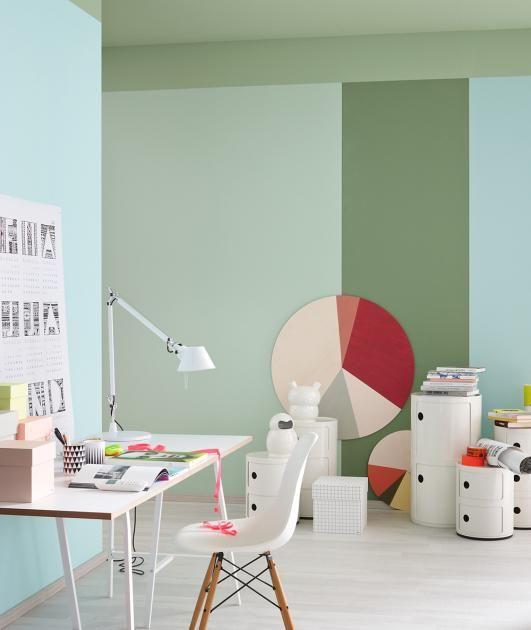 trendfarbe wohnen mit salbeigr n sch ner wohnen farben. Black Bedroom Furniture Sets. Home Design Ideas