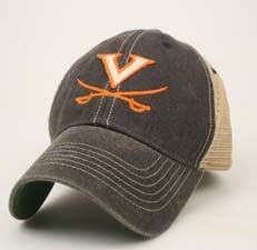 378568fb92e Virginia Cavaliers Legacy Old Favorite Trucker Hat