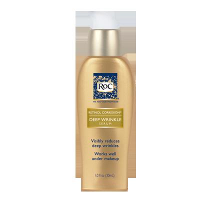 Roc Retinol Correxion Deep Wrinkle Serum Anti Aging Skin Products Best Face Serum Wrinkle Serum