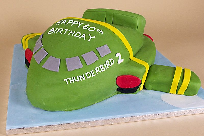 Thunderbirds Birthday Cake Delivery in UK Kid cakes Pinterest