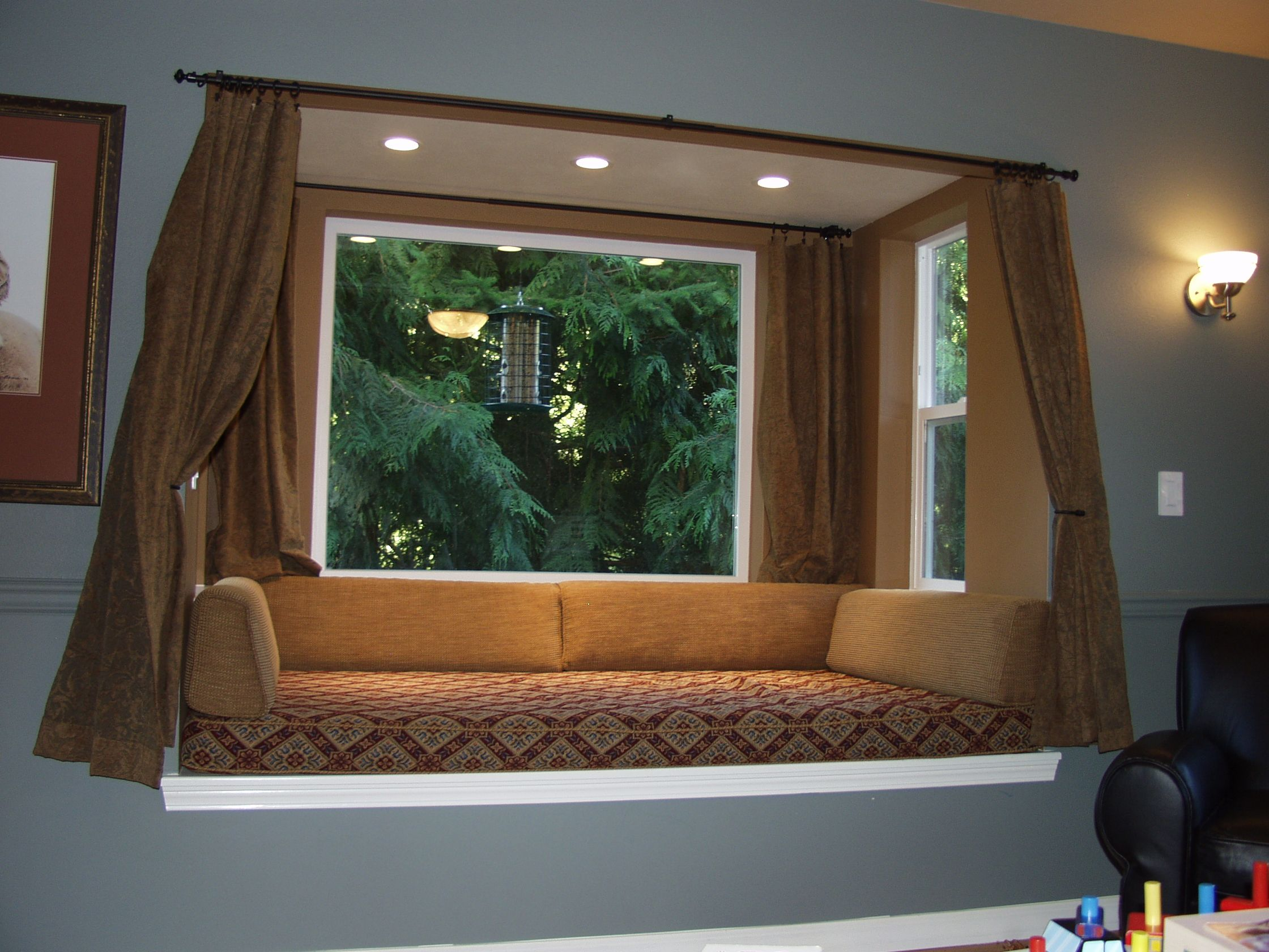 Wayne R Keffer Construction Inc Enhancing Your Home Window Seat Design Bay Window Living Room Bay Window Design