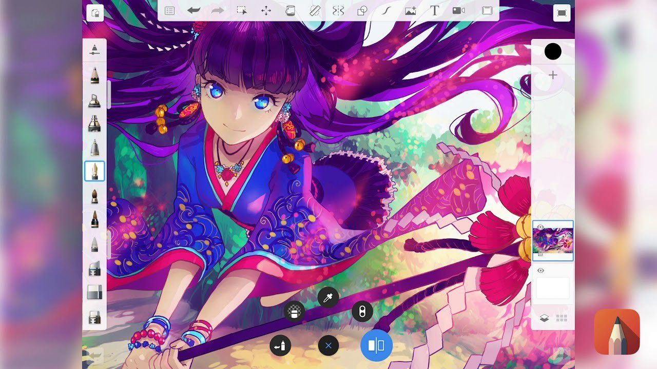 Las 9 Mejores Aplicaciones Para Dibujar En Android Anime Sketch Book Art