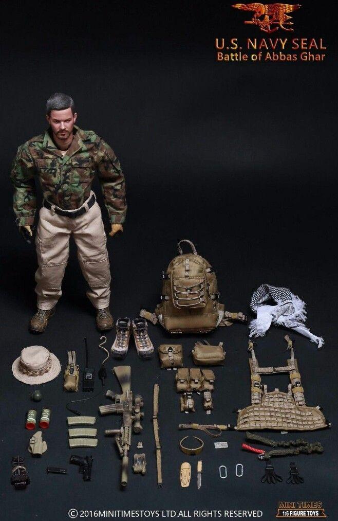 """1:6 Scale DAMTOYS FBI HRT agent Head Sculpt For 12/"""" Male Figure"""
