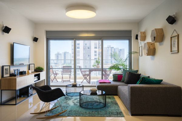 Interior Design Of A New Apartment By En Design Studio Diseno De
