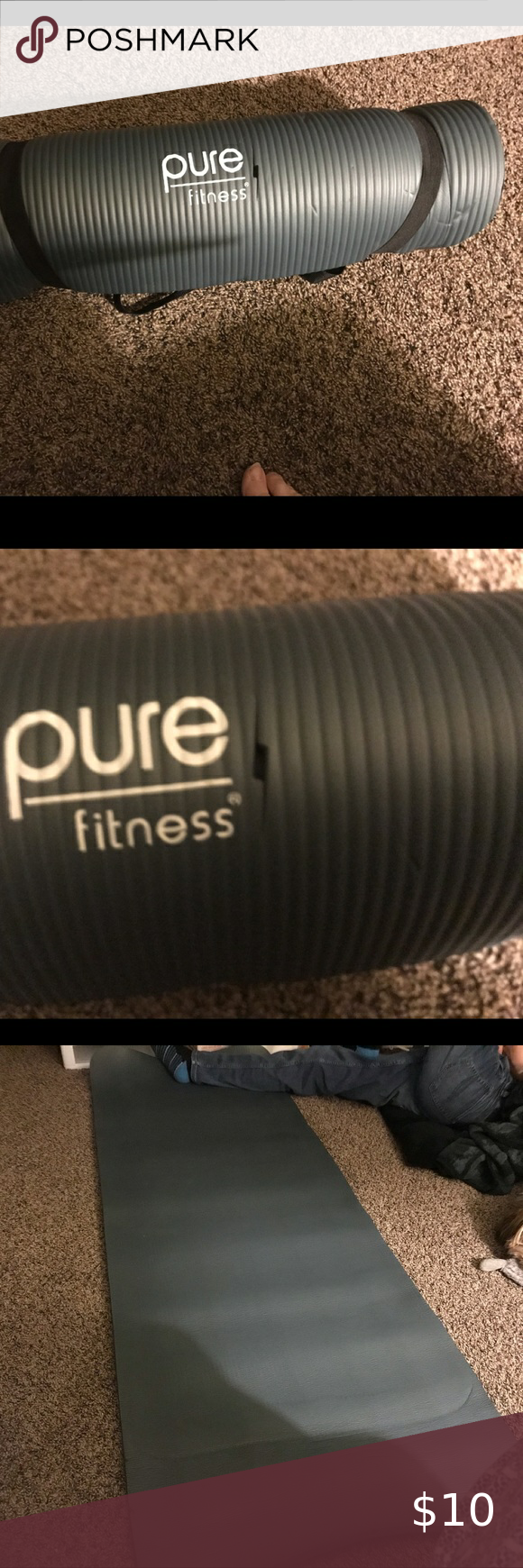 Pure Fitness Yoga Pad Yoga pad was never used, just stored