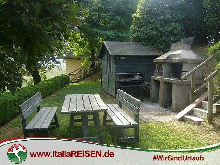 Webcode IT-MPCQ) Grillplatz für alle Gäste des Landhauses in der - pizzaofen mit grill
