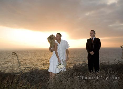 Being An Elopement Specialist Chris Officiates Many Private Wedding Ceremonies Every Year With Just The