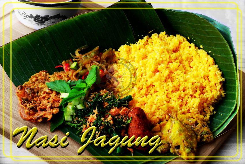 Nasi Jagung Makanan Dan Minuman Makanan Jagung