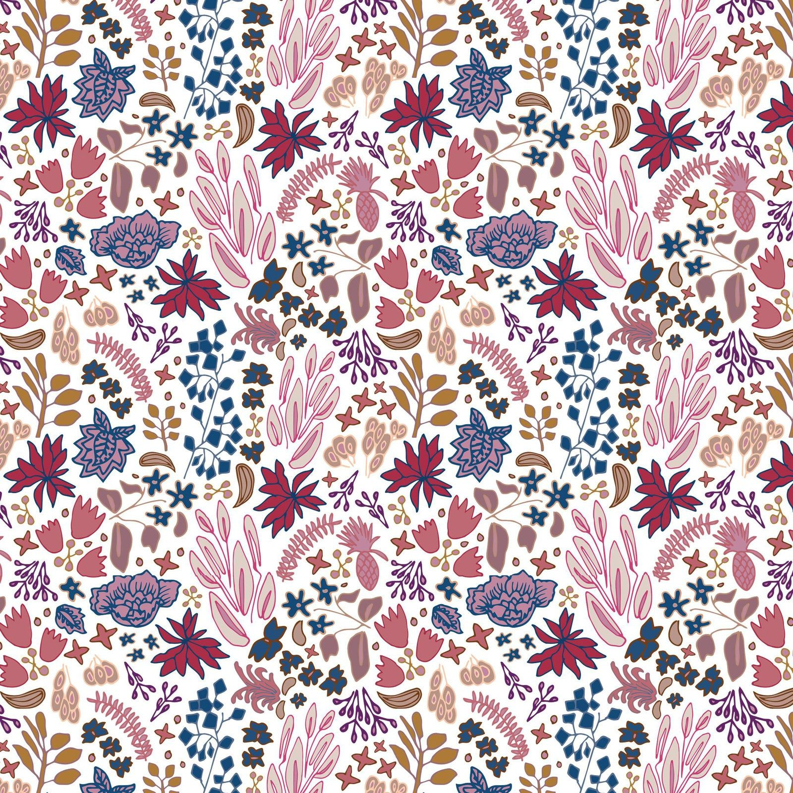 House of Harris Cambridge Wallpaper, 30 Yards, Jewel