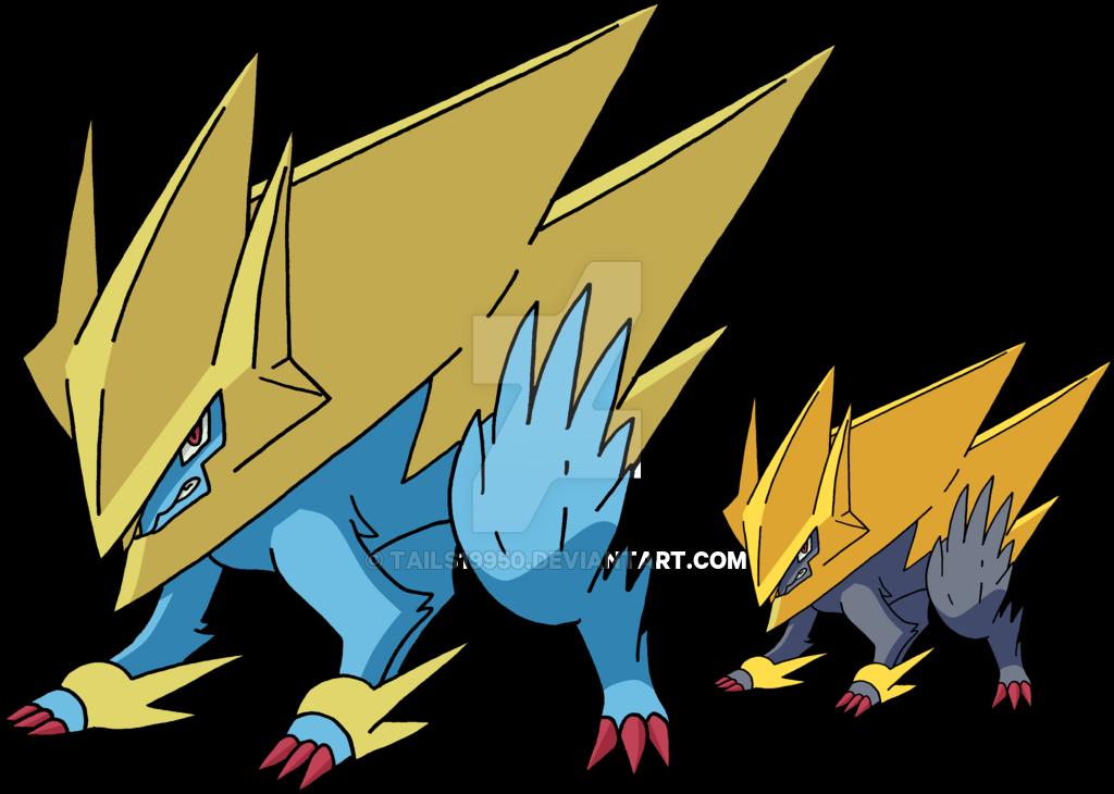Manectric Mega Evolution