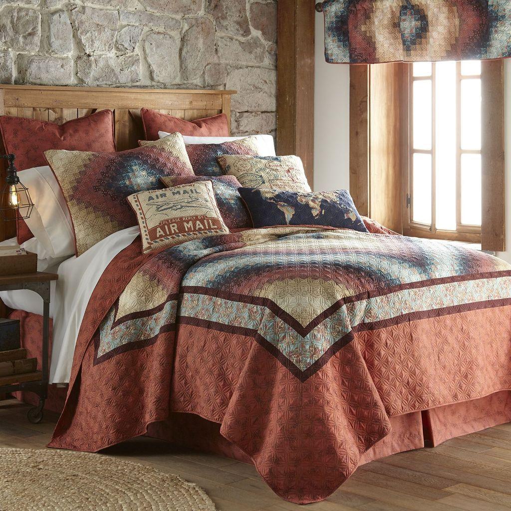 Cinnamon spice king quilt quilt bedding single quilt