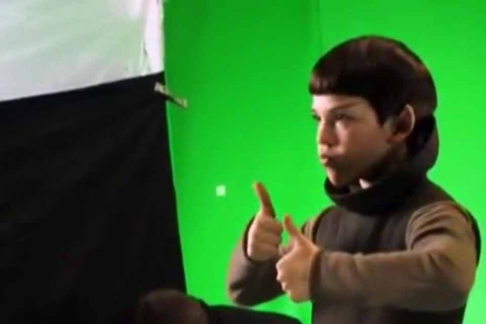 #Jacob #Kogan as (ADORABLE) child #Spock