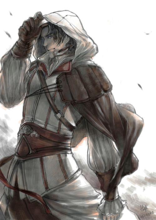 Assassin S Creed 2 Fan Art Ezio Auditore By