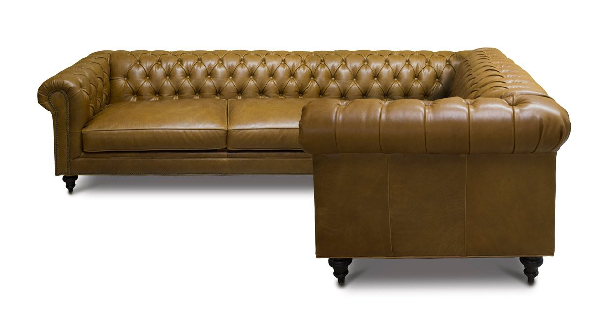 The Fitzgerald Custom Classic Chesterfield Sofas More Of Iron Oak Classic Chesterfield Sofa Chesterfield Style Sofa Leggett And Platt