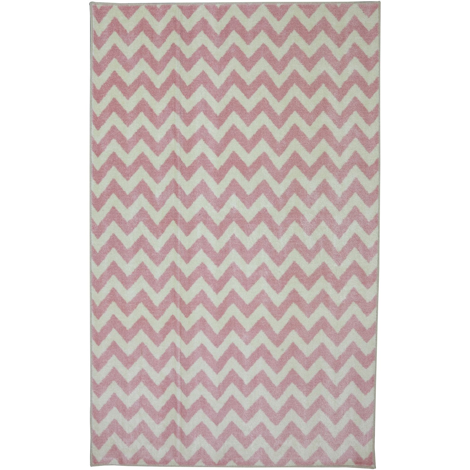 FREE SHIPPING! Shop Wayfair for American Rug Craftsmen Crib 2 College Fun Lines Pink Area Rug - Great Deals on all Decor products with the best selection to choose from!