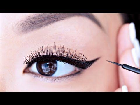 how to apply liquid eyeliner for beginners chiutips. Black Bedroom Furniture Sets. Home Design Ideas