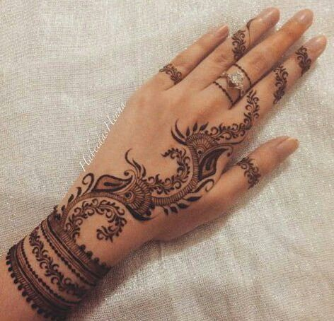 Latest mehndi designs bridal henna easy traditional also best design images patterns rh pinterest