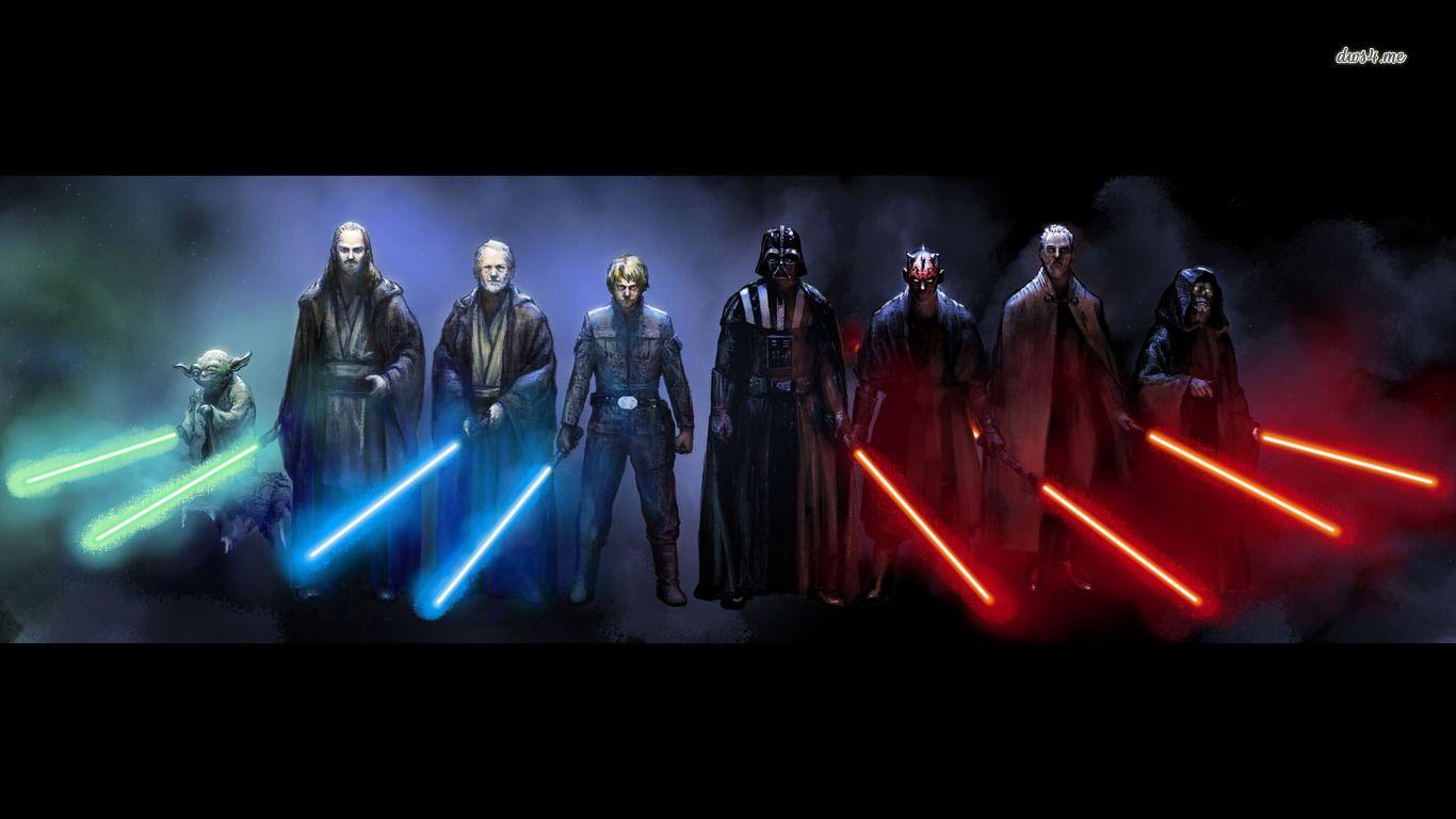Movie star wars sith darth maul darth vader yoda jedi - Jedi wallpaper ...