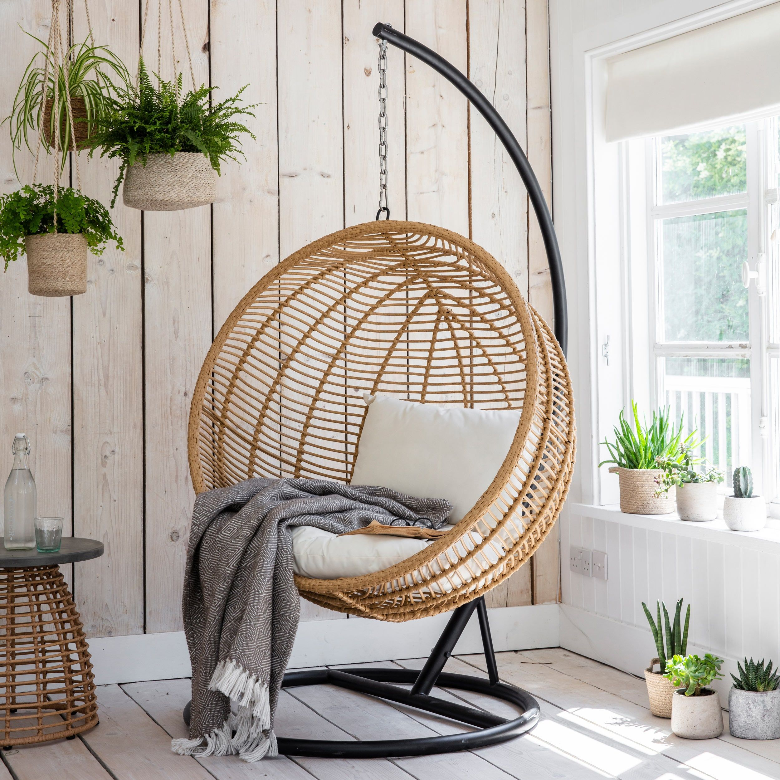 Hampstead Hanging Nest Chair Hanging egg chair, Nest