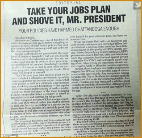 Newspaper Article Example Of An Editorial