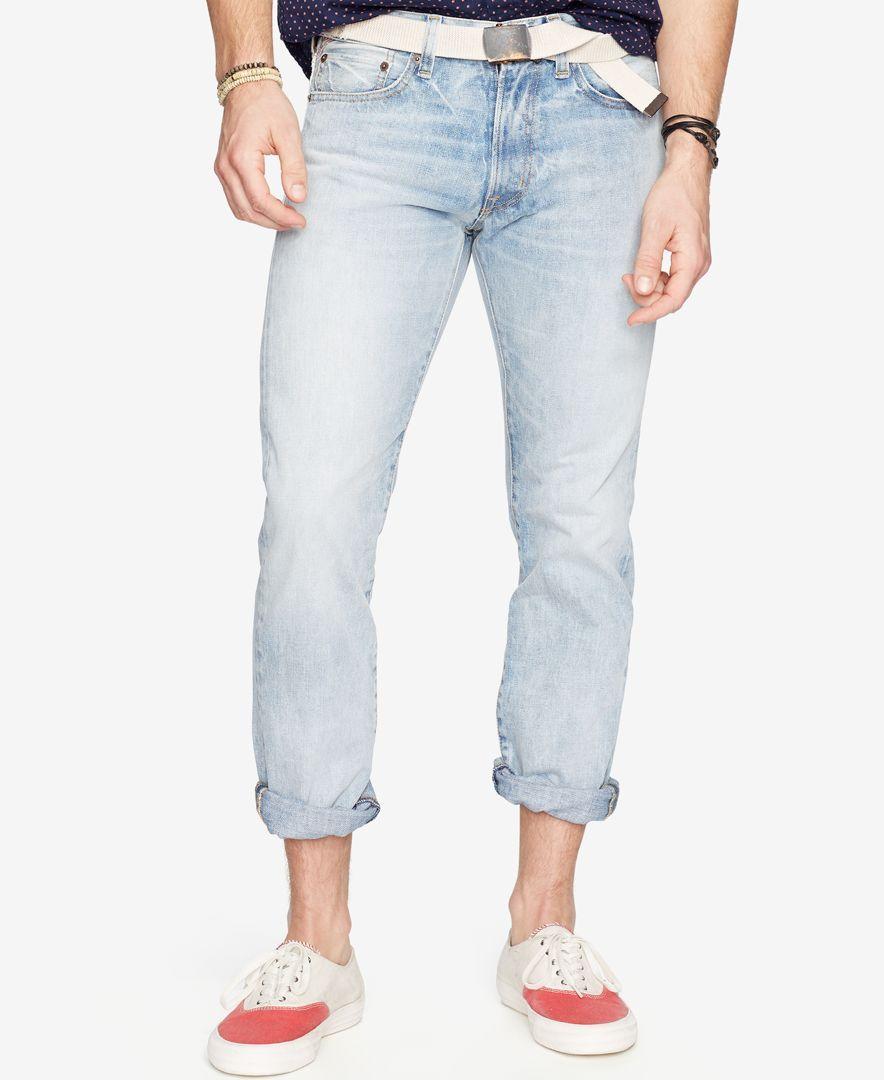 Denim & Supply Ralph Lauren Slim-Fit Faded Jeans