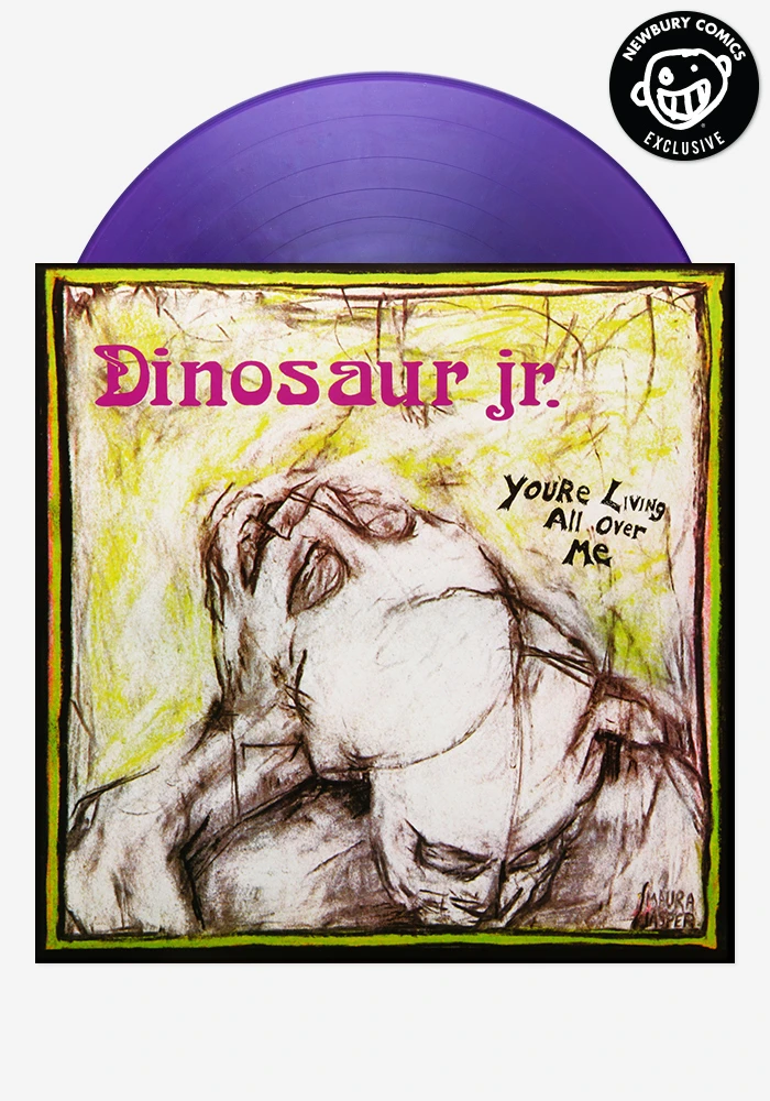 You Re Living All Over Me Exclusive Lp In 2020 Newbury Comics Dinosaur Jr Alternative Rock