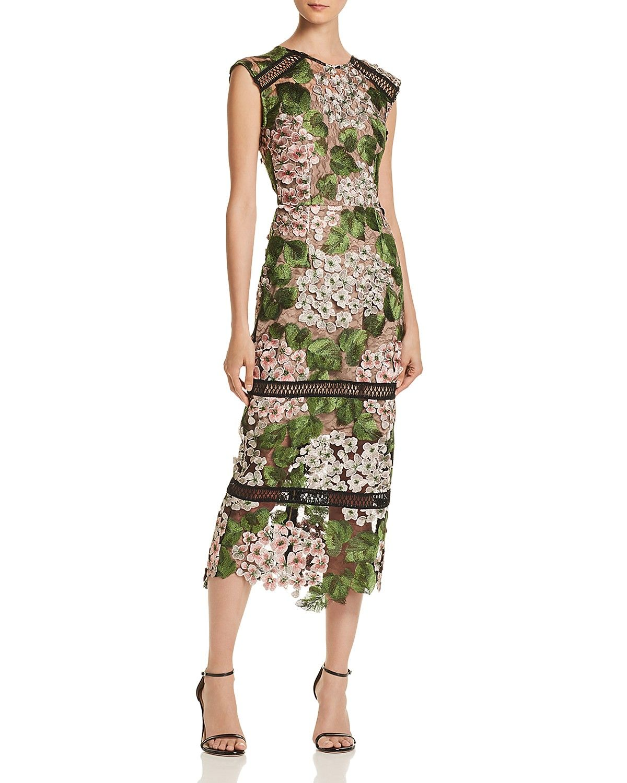 Cherry Embellished Midi Dress Embellished Midi Dress Fancy Midi Dresses Dresses