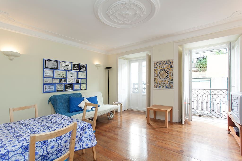 sofa bed for two apartment in lisbon portugal cozy apartment in bairro alto with