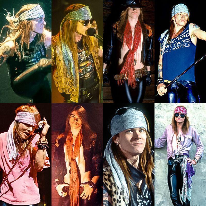 Axl Rose scarves