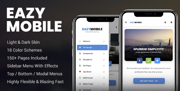 Eazy Mobile PhoneGap & Cordova Mobile App by Enabled