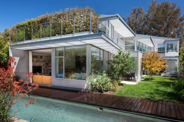 A Net Zero Energy House In Santa Monica California 패시브 하우스