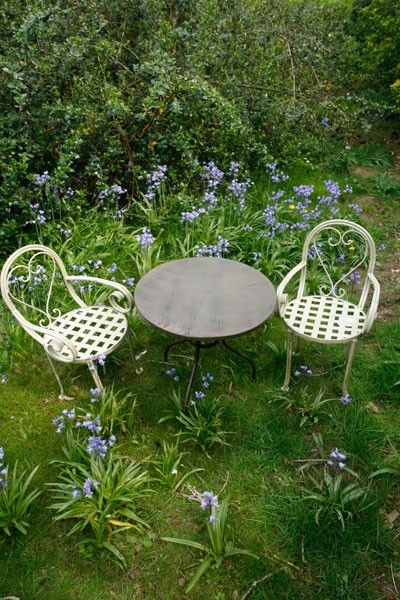 Vintage Inspired Metalware Children S Patio Set 2 Chairs And A