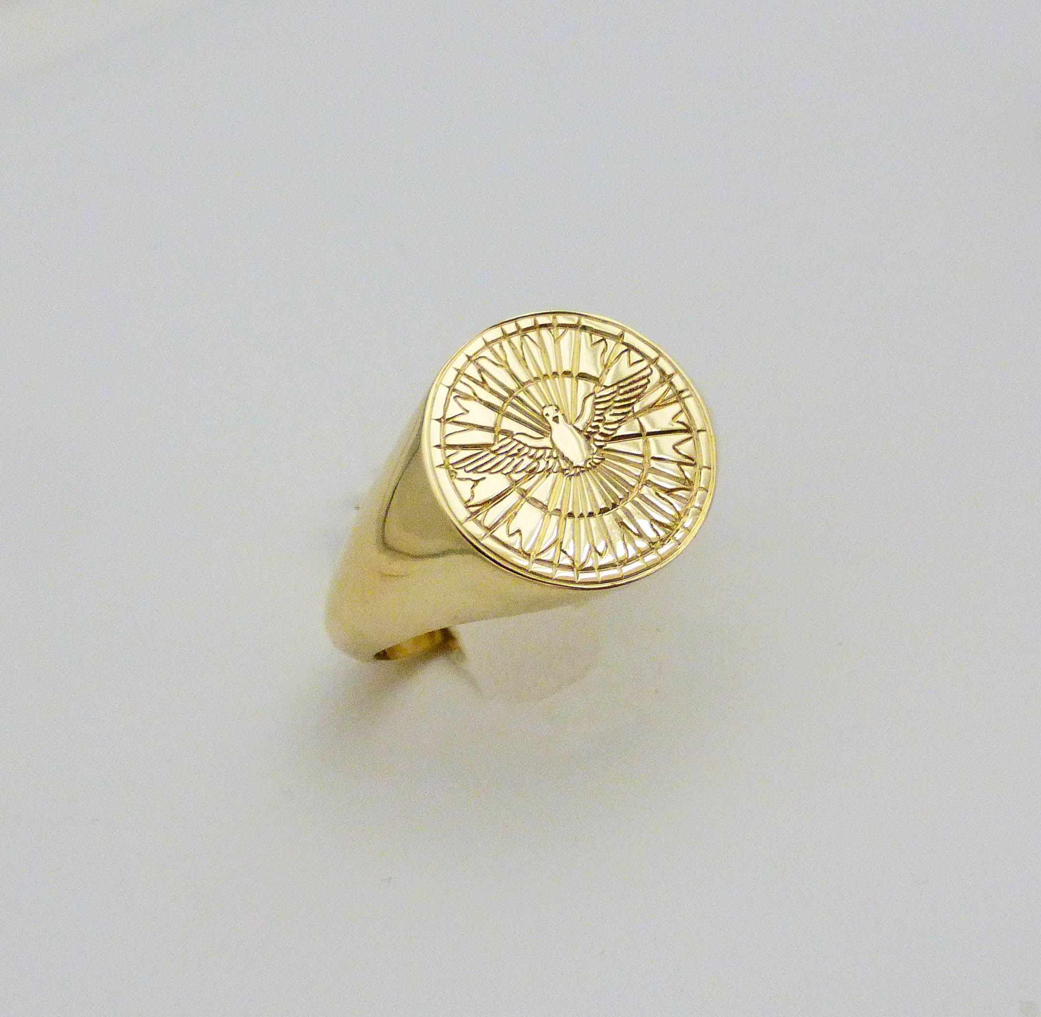 This custom gents ring was made at www.precisionring.com Contact us today to get started on your personalized jewellery
