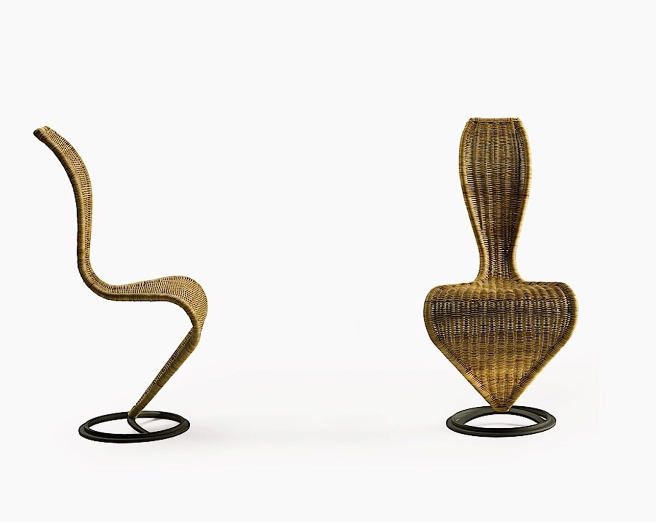 Merveilleux S Chair, By Tom Dixon   ), Tunisia. This Is The Only Wicker Chair That I  Actually Like. It Resembles Those Old Paintings Of Etruscan Noble Women, ...