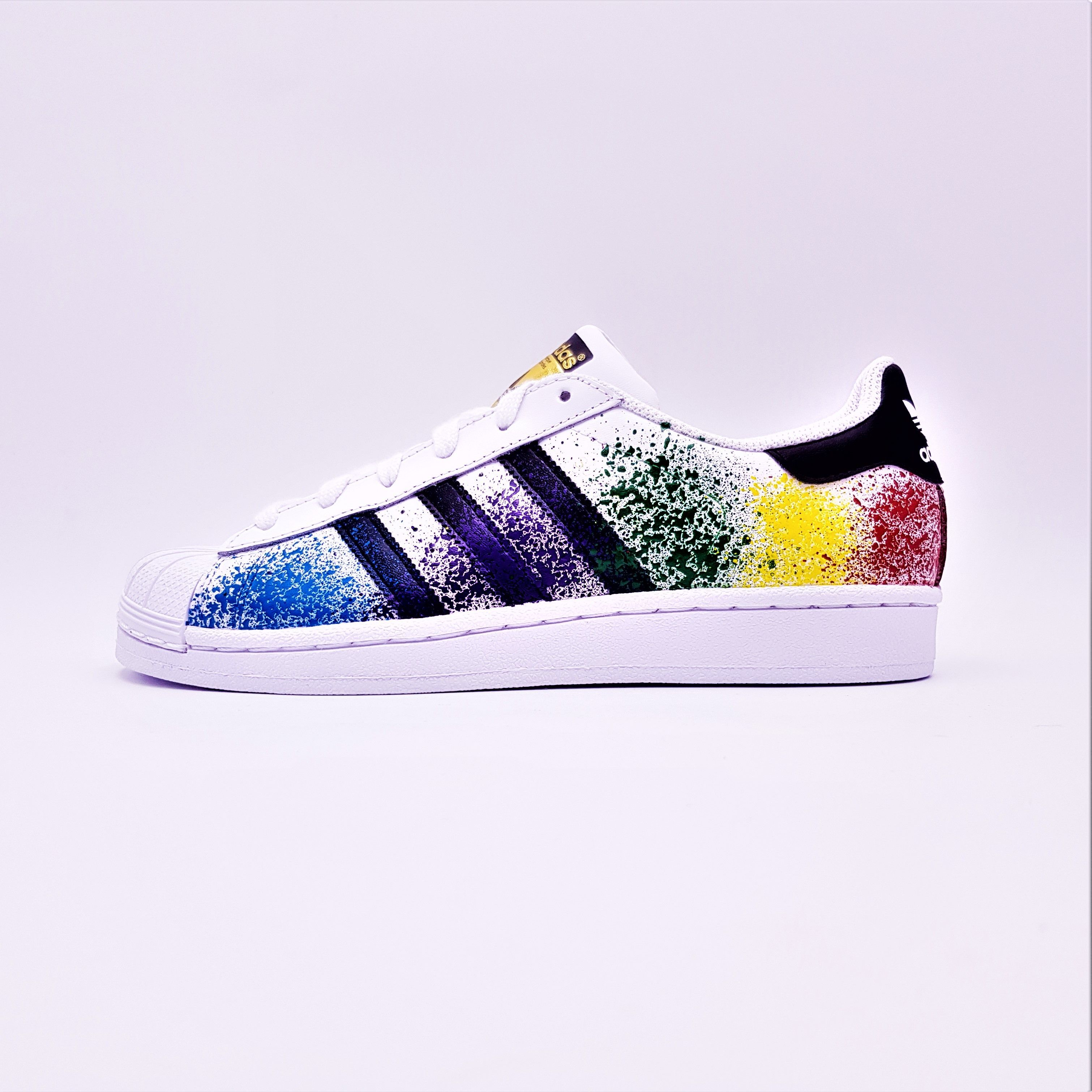 Adidas Color Splash Superstar | Superstar, Adidas et Adidas