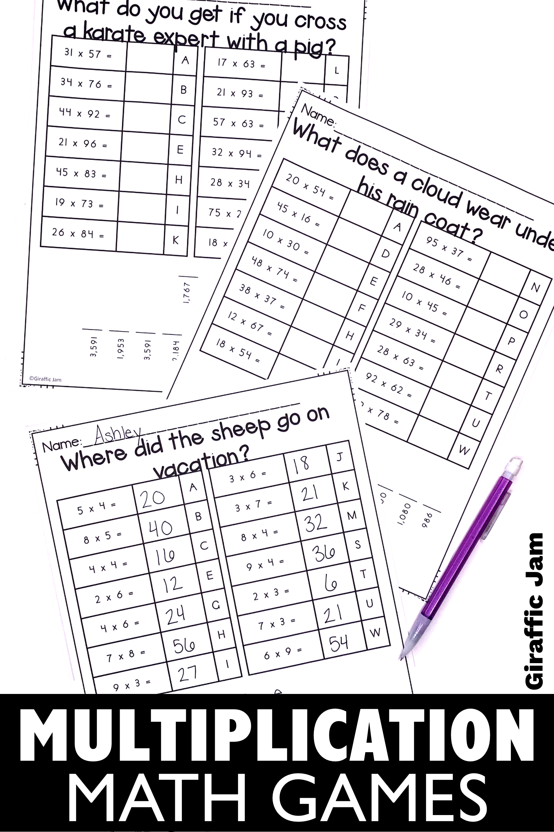 Pin on Multiplication-Elementary School