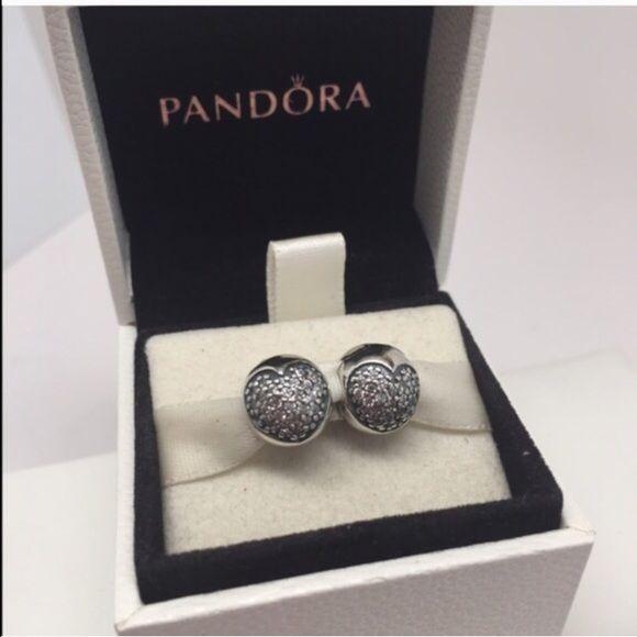 e431806c1 Pandora love of my life clear CZ clips New pandora clip charms Pandora  Jewelry