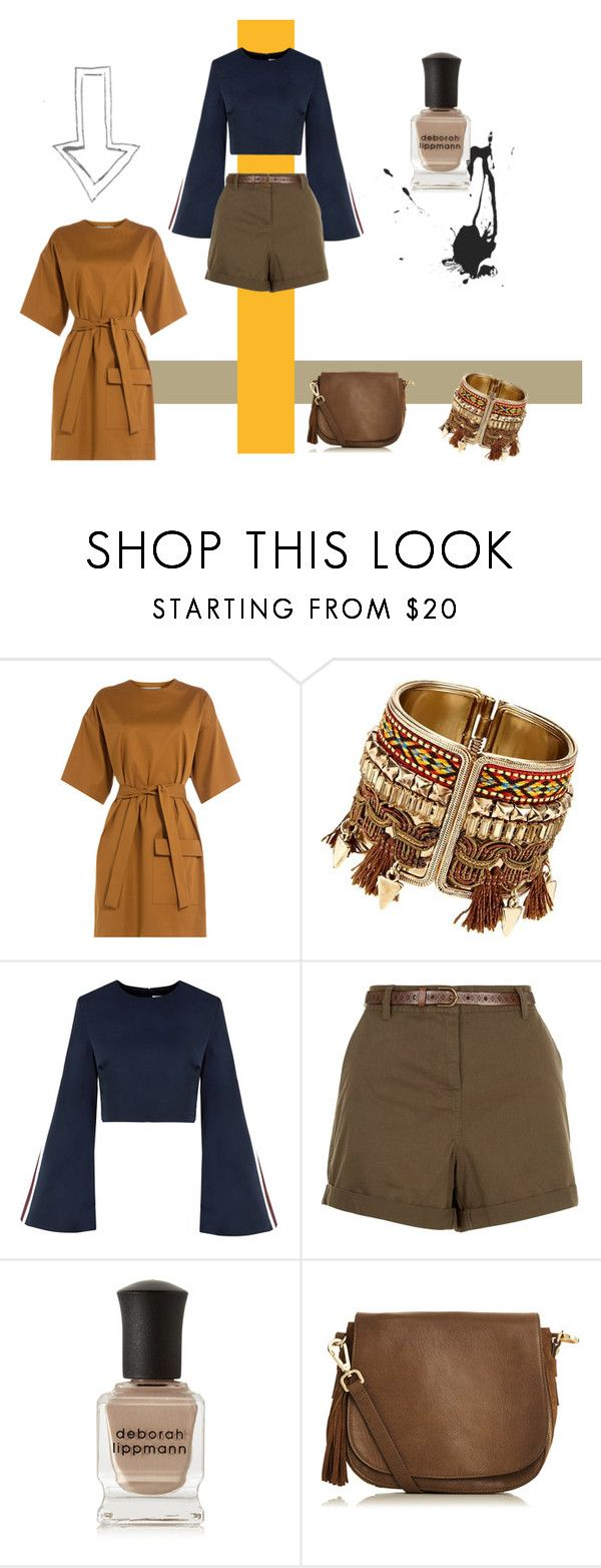 """Safari Board 1"" by lilymaekew on Polyvore featuring MSGM, New Look, Deborah Lippmann and Oasis"