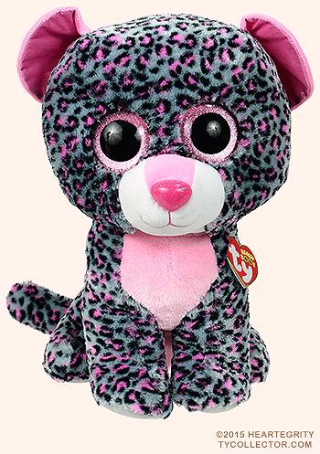 1a37add6332 Tasha (large) - leopard - Ty Beanie Boos